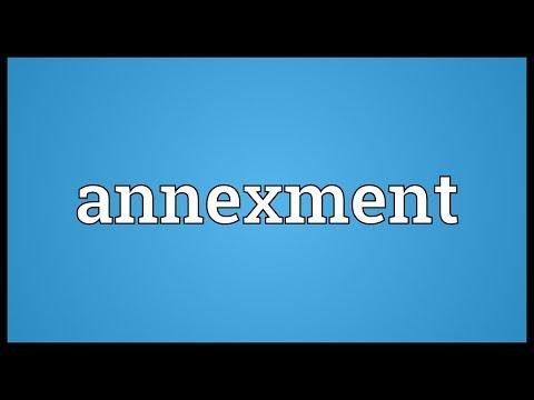 Header of annexment