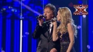 Аида Николайчук и Chris Norman - Stumblin In - Десятый прямой эфир - Х-Фактор 3 - 29.12.2012