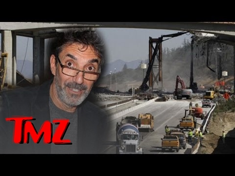 It's Chuck Lorre vs the 405 Freeway Workers!!