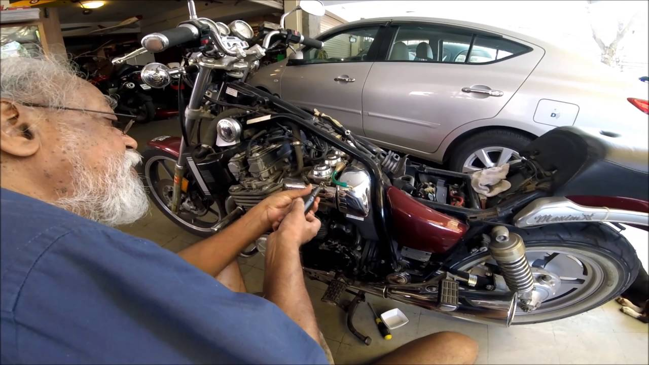 servicing the yamaha xj 700 maximx  1986 yamaha maxim 700 wiring diagram #13