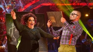Lisa Riley & Robin Windsor Charleston to 'Witch Doctor' - Strictly Come Dancing 2012 - BBC One