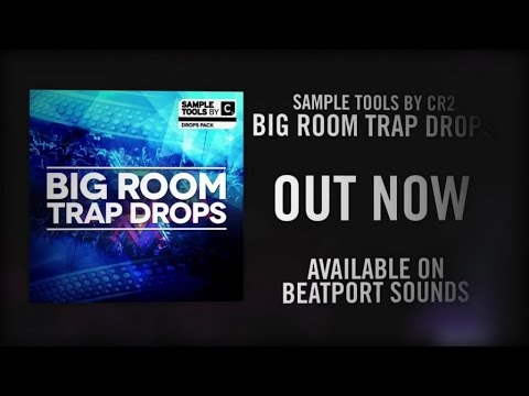 Sample Tools by Cr2 - Big Room Trap Drops (Sample pack)