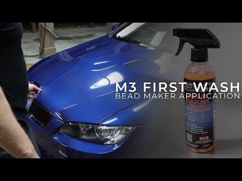 Washing and Bead Maker Application on My E92 M3 After Full Paint Correction