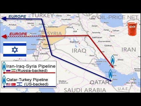 Israel is Arming ISIS & AlQaeda to Conquer Syria & Stop Iran Pipeline - Alex Jones