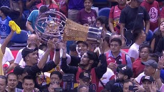 2019 PBA Philippine Cup championship ceremony