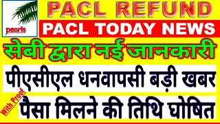 Pacl News Today | Pacl Refund Process | Pacl ka paisa kab milega | Pacl private limited | pacl