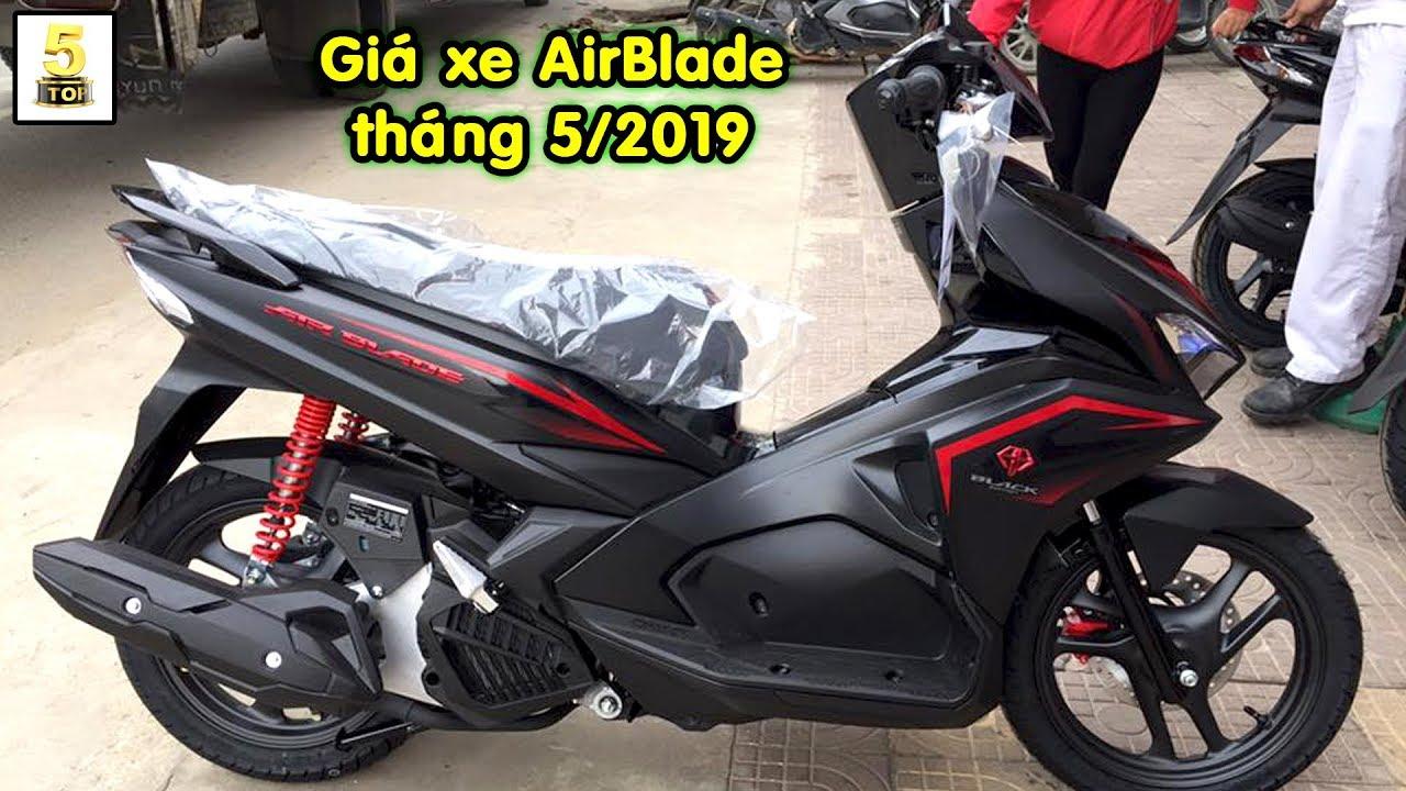 Giá xe Honda AirBlade 2019 tháng 5 ▶️ Nhận định về phiên bản AirBlade 150 2020 🔴 TOP 5 ĐAM MÊ