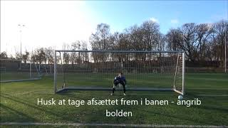 Basic Goalkeeping Techniques: Low, Middle and High Diving