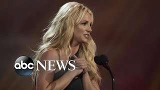 Britney Spears calls for father to be removed from conservatorship