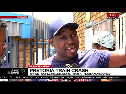 Pretoria train crash | Three people killed, more than a thousand injured