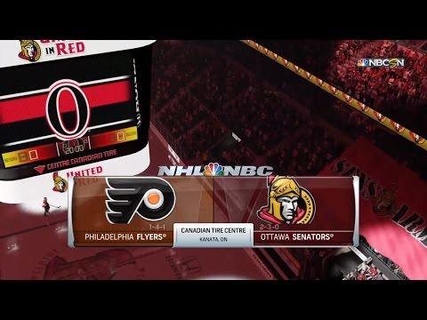 PS4 - NHL 16: Philadelphia Flyers vs Ottawa Senators