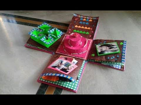#DIY | SURPRIZE EXPLOSION BOX - handmade gift, a perfect idea for gifting...