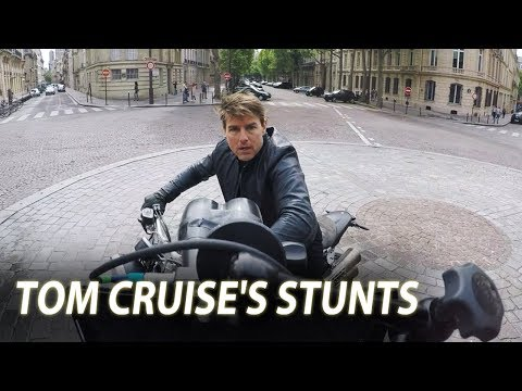 Tom Cruise Rides Motorcycle, HALO Jump & Helicopter Stunt | Mission: Impossible - Fallout (2018)