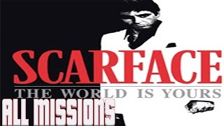 Scarface The World Is Yours (PS2) All Missions