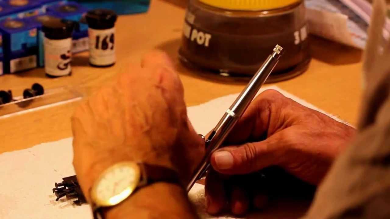 altern mit Acrylfarben (Zucker) - YouTube
