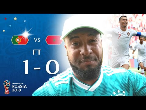 Portugal vs Morocco 1-0 Reaction | Morocco Knocked Out Of 2018 World Cup