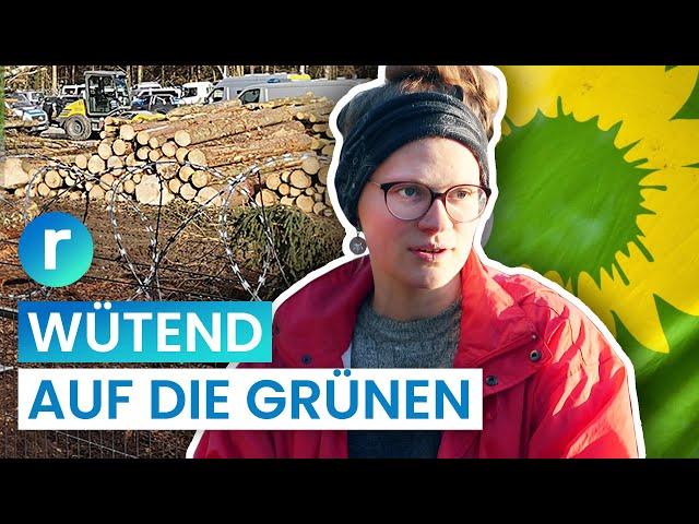 Dannenröder Forst: Klimaschützer vs. die Grünen I reporter