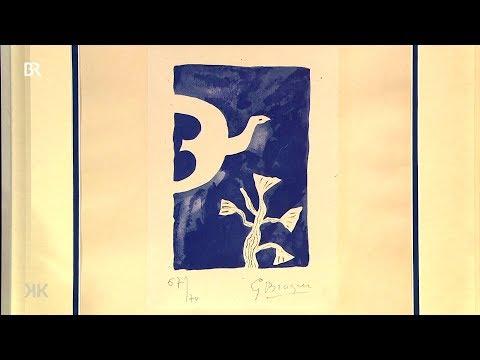 """Braques Blau: """"Blauer Vogel von Georges Braque"""" (Kunst + Krempel)"""