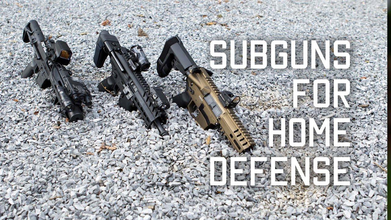 Subgun for home defense | Tactical Rifleman
