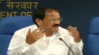 Release of 'LOGO' of 'Swacch Bharat Mission' & briefing on the Mission by Shri M.Venkaiah Naidu