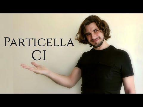 Particella CI | местоименная частица CI | итальянский язык