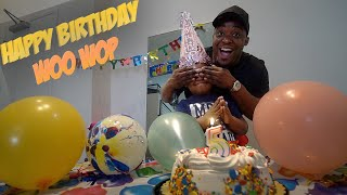 I Pranked WooWop And Told Him It Was His Birthday Today !!