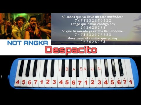 Not Pianika Despacito - Luis Fonsi Ft. Daddy Yanke
