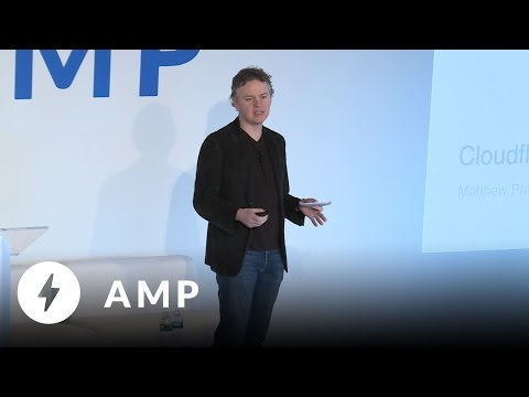 How Cloudflare is accelerating AMP - Day 2 Keynote (AMP Conf '17)