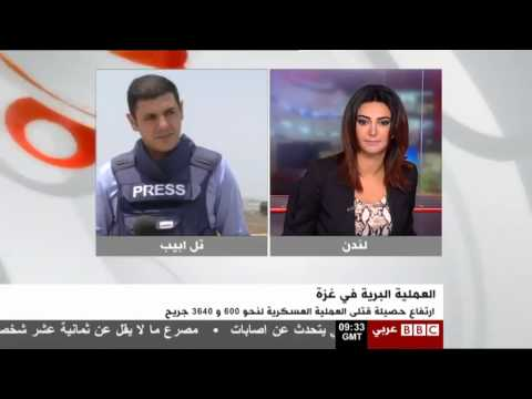 BBC Arabic Reporter Feras Khatib Attacked On Air By 'Angry Israeli'