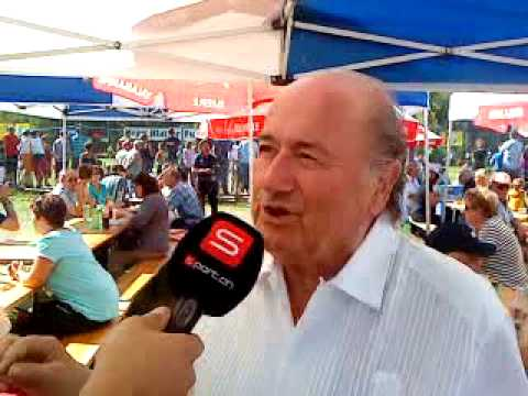 Interview mit Joseph S. Blatter