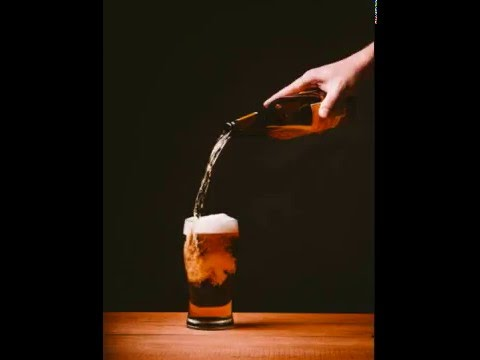 pouring beer into a glass sound effects youtube