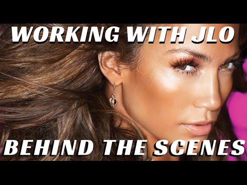 Behind the Scenes w/ Jennifer Lopez & Pro Makeup Artists Billy B. & Scott Barnes - mathias4makeup