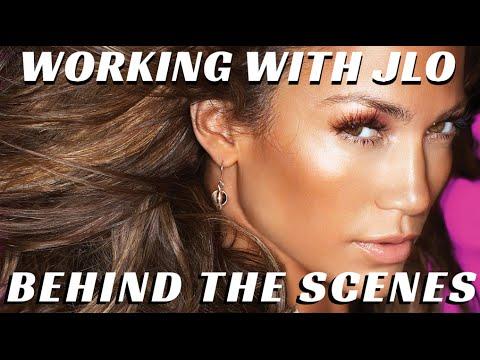 Behind the Scenes w/ Jennifer Lopez & Pro Makeup Artists Billy B  & Scott  Barnes - mathias4makeup