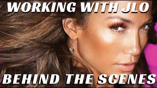 Behind the Scenes w/ Jennifer Lopez & Pro Makeup Artists Billy B. & Scott Barnes - mathias4makeup