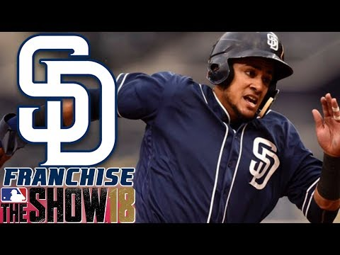REAL ROSTERS - MLB The Show 18 - Franchise - San Diego ep. 2
