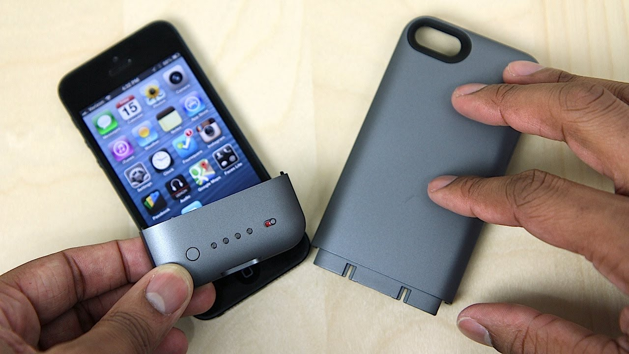 d8420694f Mophie Juice Pack Helium Case Unboxing (iPhone 5) - YouTube