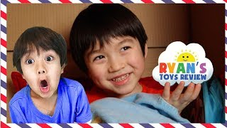 I MAILED MYSELF to RYAN TOYS REVIEW and it WORKED!!!  in real life skit