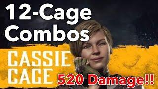 MK11 Cassie Cage Combo Video [Mortal Kombat 11]