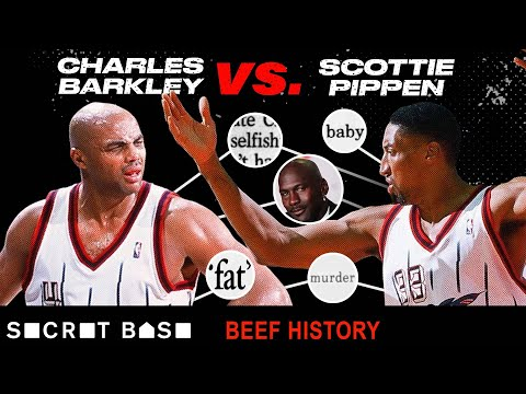 Scottie Pippen's beef with Charles Barkley is what happens when you don't listen to Michael Jordan