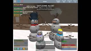 Roblox DZR: Outside of Safezone