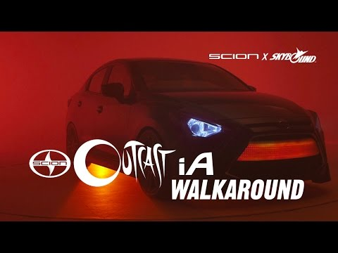 "Skybound Outcast ""Possession"" Scion iA Walkaround (Scion)"
