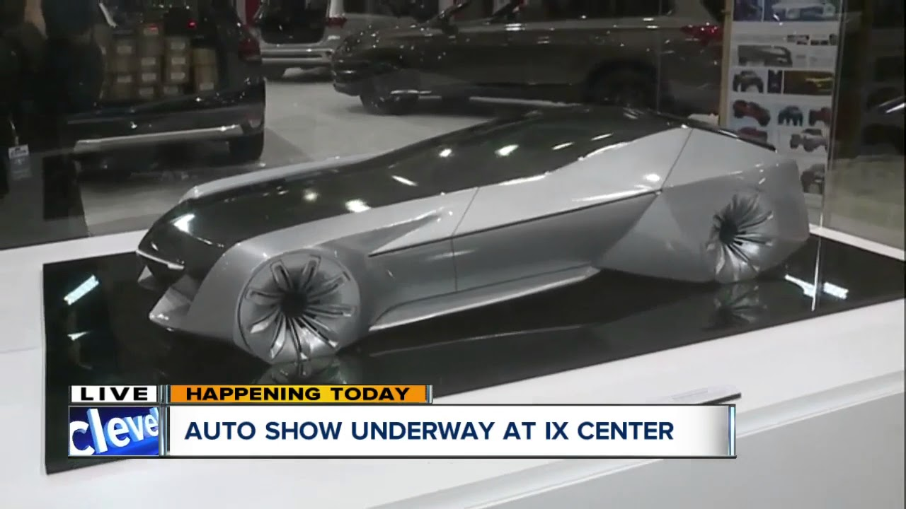 Auto Show Underway At Ix Center