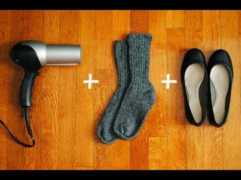 como hacer para estirar los zapatos nuevos