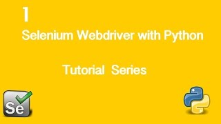 1. Selenium Webdriver with Python Tutorial - Installing Firefox Plugins