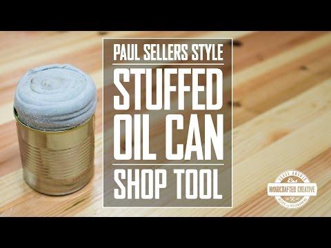 15 - Stuffed Oil Can Tool