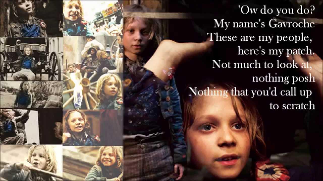 les miserables movie lyrics pdf