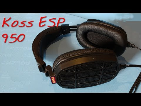 Z Review - Koss ESP950 Electrostatic EarSpeakers That Aren't STAX