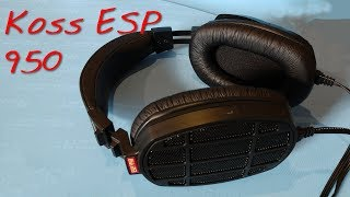 Z Review - Koss ESP950 Electrostatic EarSpeakers that aren&#39t STAX