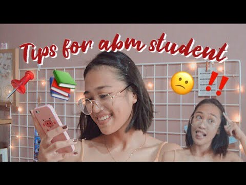 mahirap ba ang ABM??? // Reasons why I choose ABM Strand + TIPS!