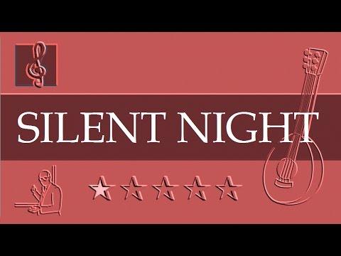 Mandolin Notes Tutorial - Christmas song - Silent night (Sheet music - Guitar chords)